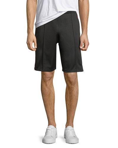 Technical Jersey Bermuda Shorts