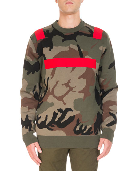 Givenchy Camouflage-Print Sweatshirt