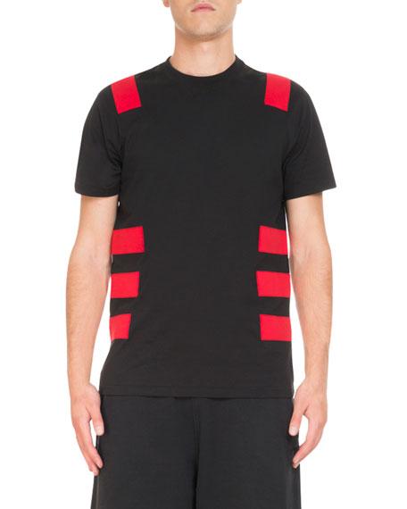 Givenchy Contrast-Band Cuban T-Shirt