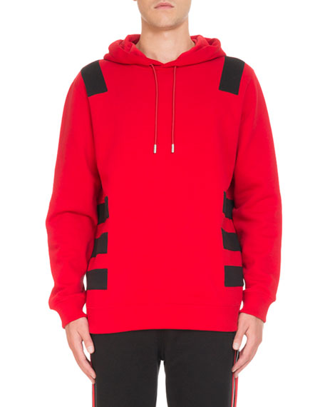 Givenchy Contrast-Banded Pullover Hoodie