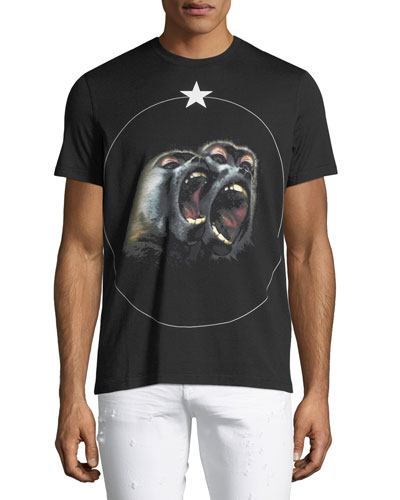 Monkey Brothers Graphic Cuban-Fit T-Shirt