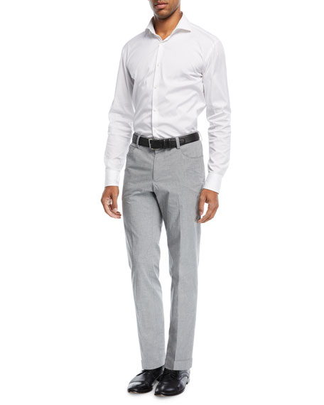 Gaetano 5-Pocket Cotton Trousers