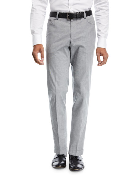 BOSS Gaetano 5-Pocket Cotton Trousers
