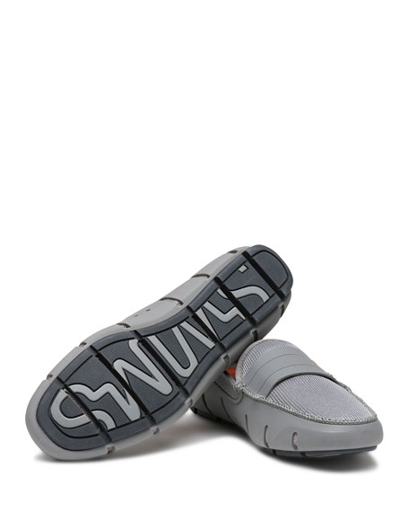 Stride Bands Slip-On Loafer, Gray