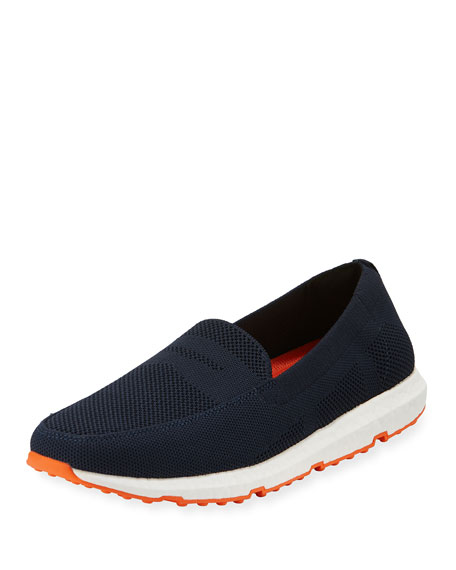 Swims Breeze Knit Slip-On Loafer, Navy