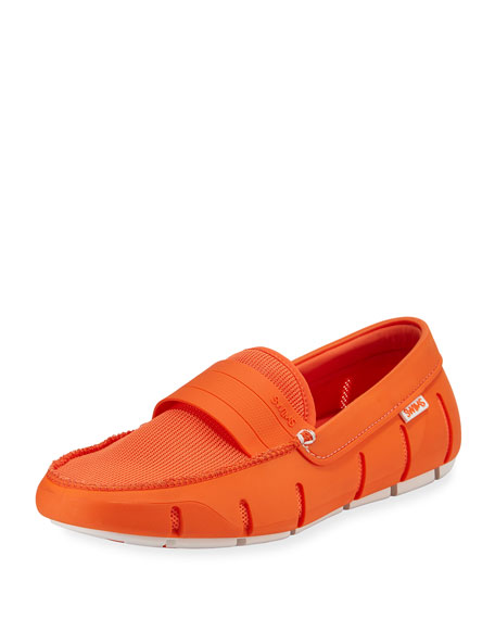 Swims Stride Bands Slip-On Loafer, Orange
