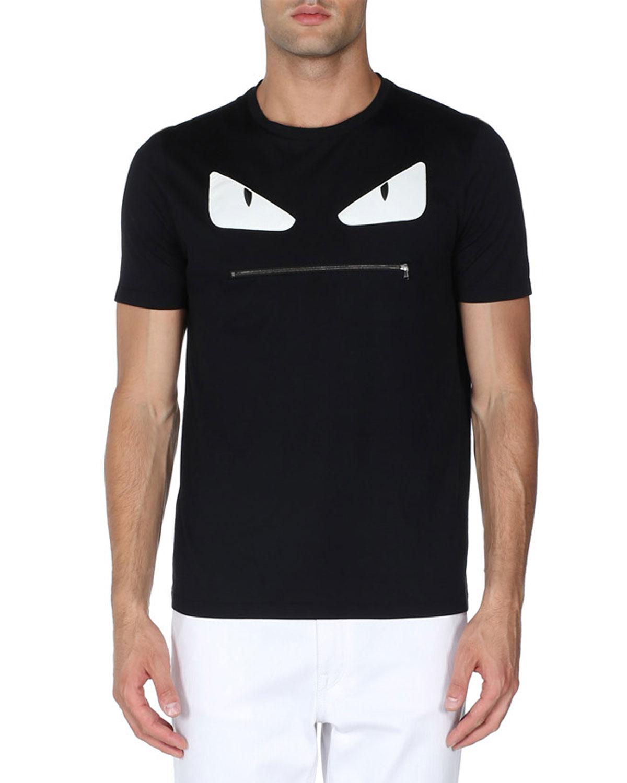 1aff6a502e Fendi Monster Face T-Shirt