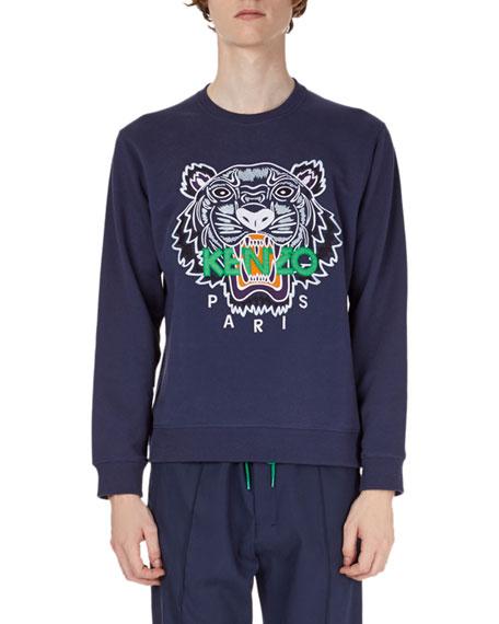 Kenzo Tiger-Graphic Sweatshirt