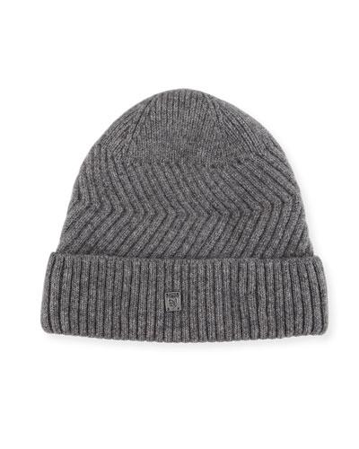 Dax Watchcap Cashmere Beanie Hat