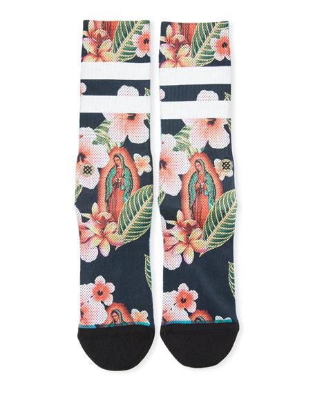 Madre de Aloha Socks
