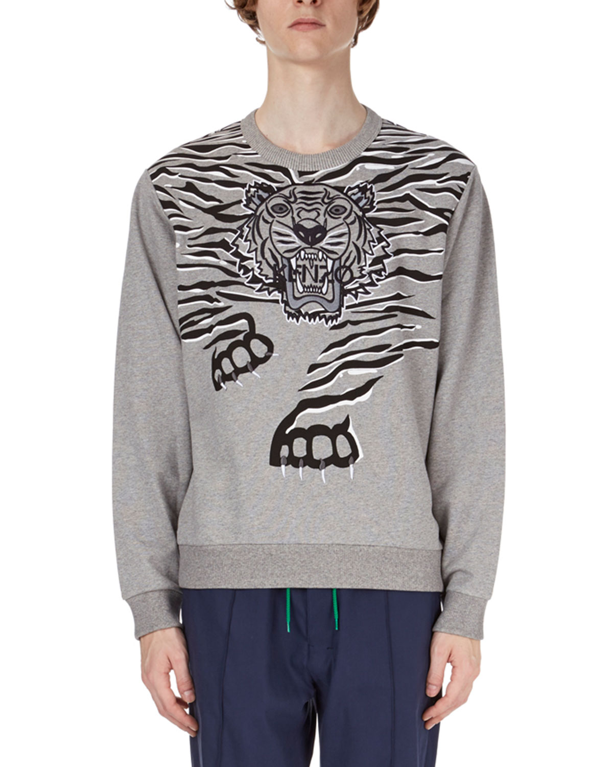 Claw Tiger Graphic Sweatshirt Claw Tiger Graphic rdhtCsQx