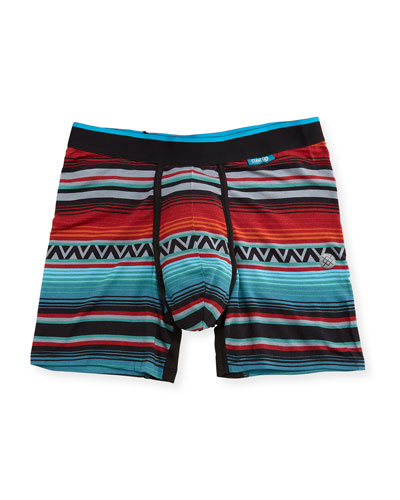Dark Days Striped Boxer Briefs