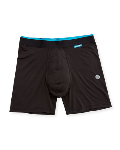 Union Contrast-Trim Boxer Briefs