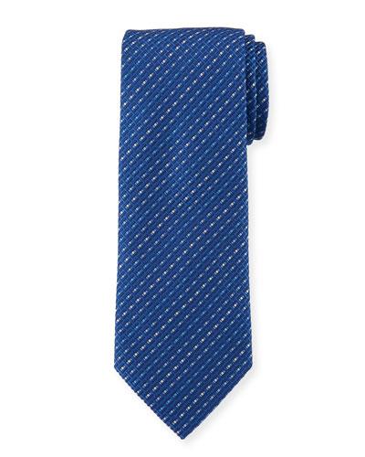 Este Stripe Silk Tie