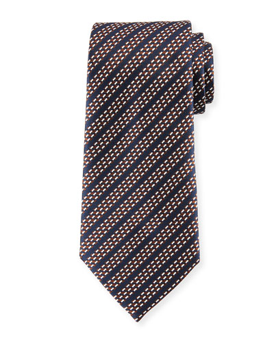 Dash Stripes Silk Tie