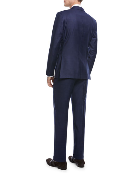 Tonal Plaid Trofeo® Wool Two-Piece Suit