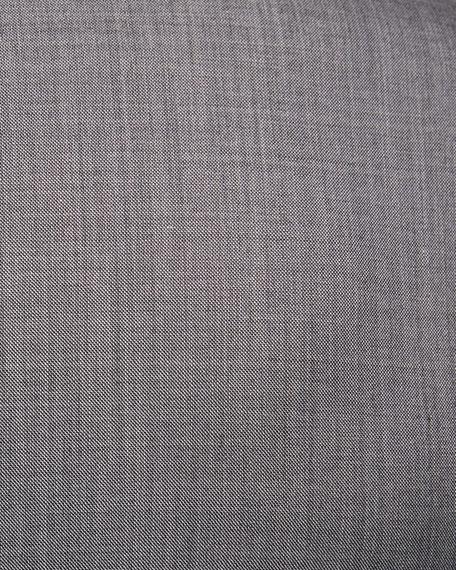 Super 160s Wool Sharkskin Two-Piece Suit