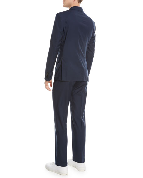 Wash-and-Go Two-Piece Wool Suit