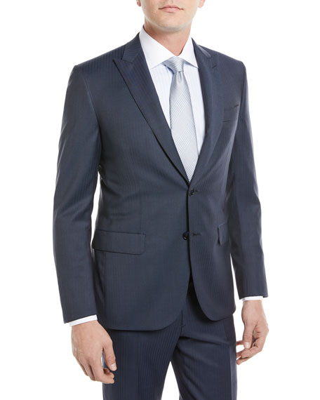 Brioni Herringbone Two-Piece Wool Suit
