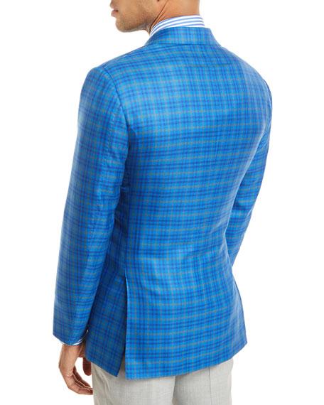 Check 3-Button Sport Coat