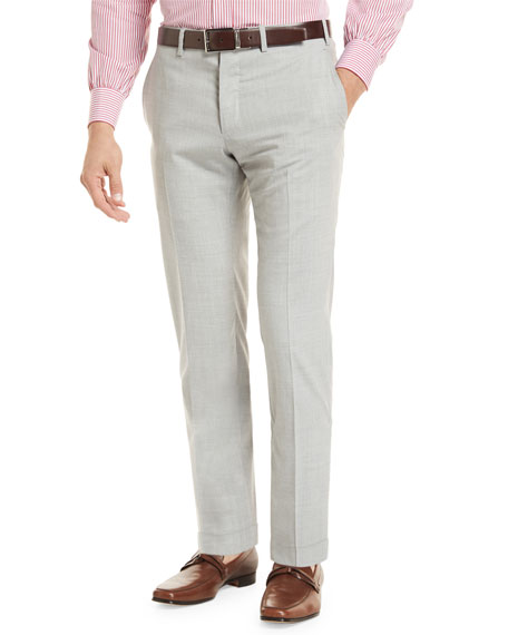 Kiton Super 160s Wool Trousers