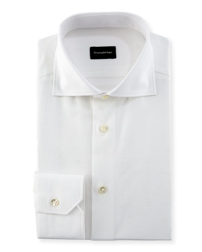 Seersucker Cotton Dress Shirt
