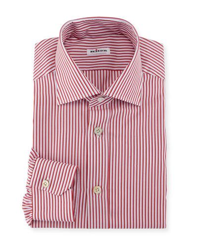 Striped Dress Shirt, Pink