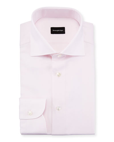 Basketweave Dress Shirt
