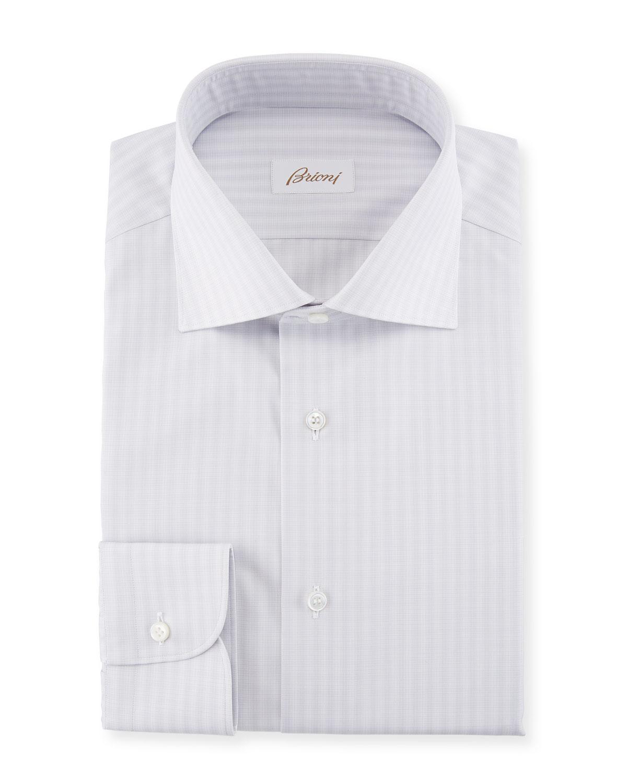 142575ac45de Brioni Striped Cotton Dress Shirt