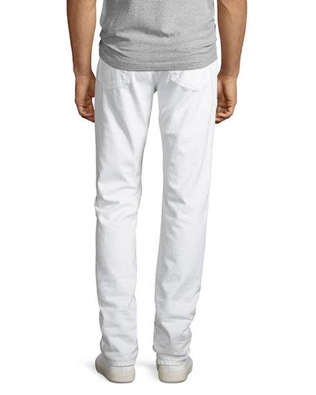 L'Homme Slim Fit Jeans, Blanc