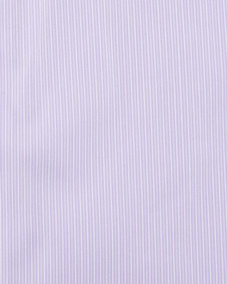 Modern-Fit Fine-Stripe Dress Shirt