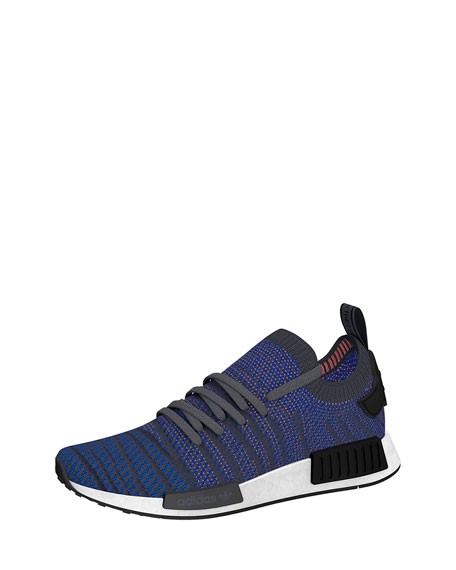 Adidas Men's NMD_R1 Primeknit Trainer Sneakers