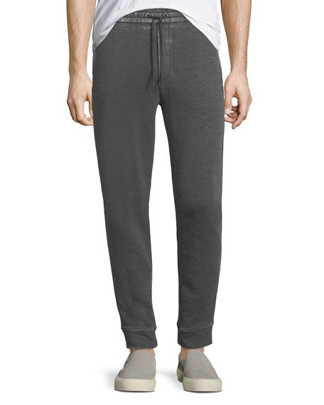 John Varvatos Star USA Textured Knit Drawstring Pants