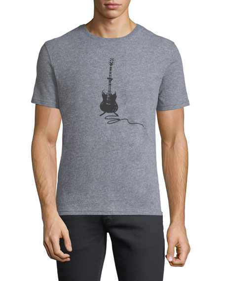 Guitar Stack Graphic T-Shirt