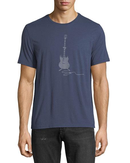 John Varvatos Star USA Guitar Graphic T-Shirt