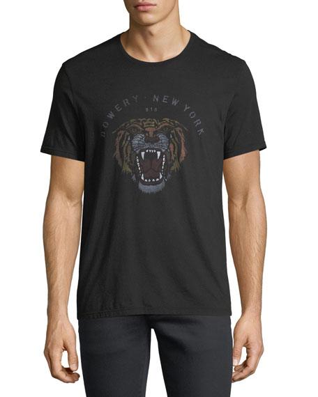 John Varvatos Star USA Bowery Tiger Graphic T-Shirt