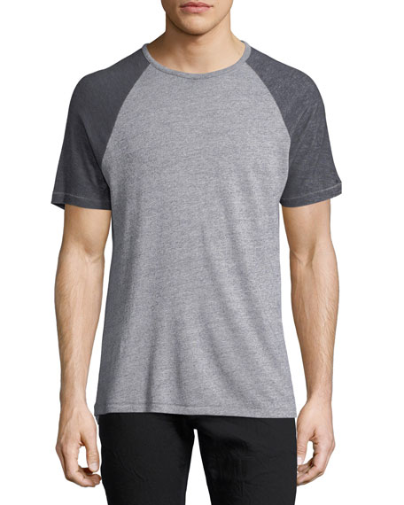 John Varvatos Star USA Raglan Short-Sleeve T-Shirt