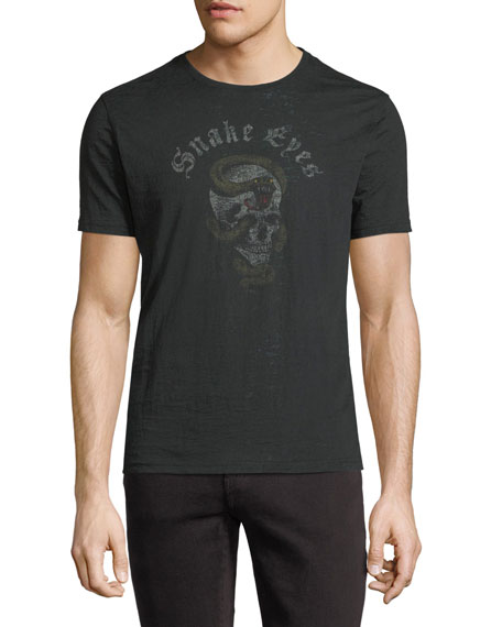 John Varvatos Star USA Snake Eyes Graphic T-Shirt