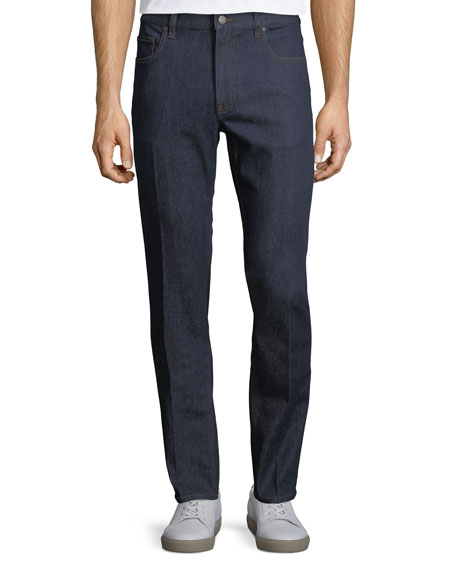 Five-Pocket Stretch-Cotton Denim Jeans