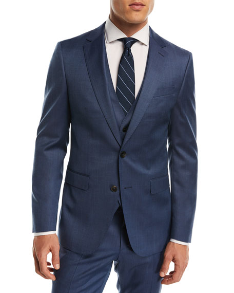 BOSS Wool Three-Piece Suit