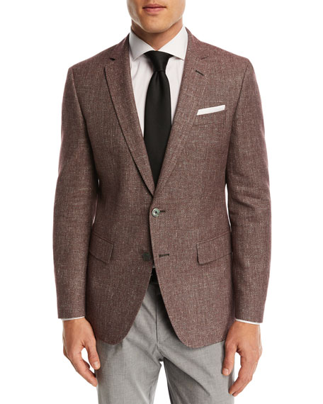 Hopsack Cotton-Linen Sport Coat