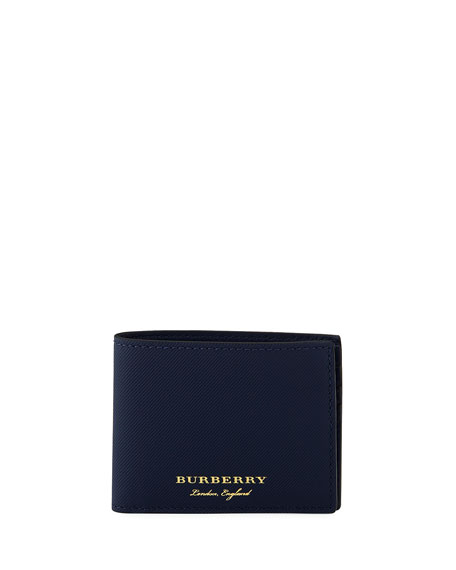 Burberry Trench Leather Hipfold Wallet