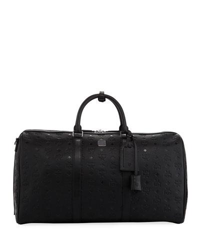 Ottomar Men's Embossed Weekender Bag