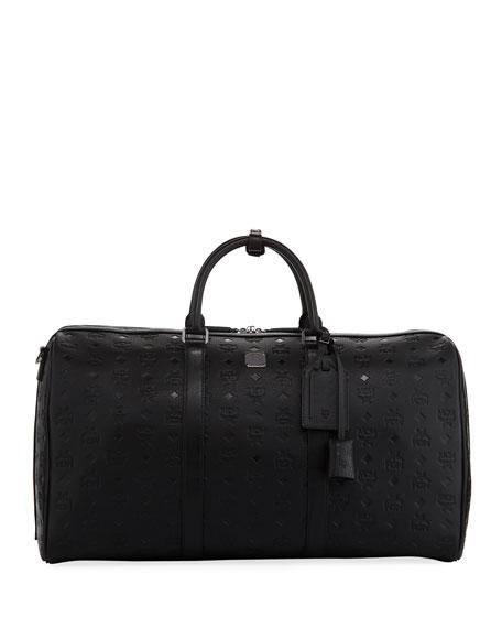 MCM Ottomar Mens Embossed Weekender Bag Pt5HGuj8M