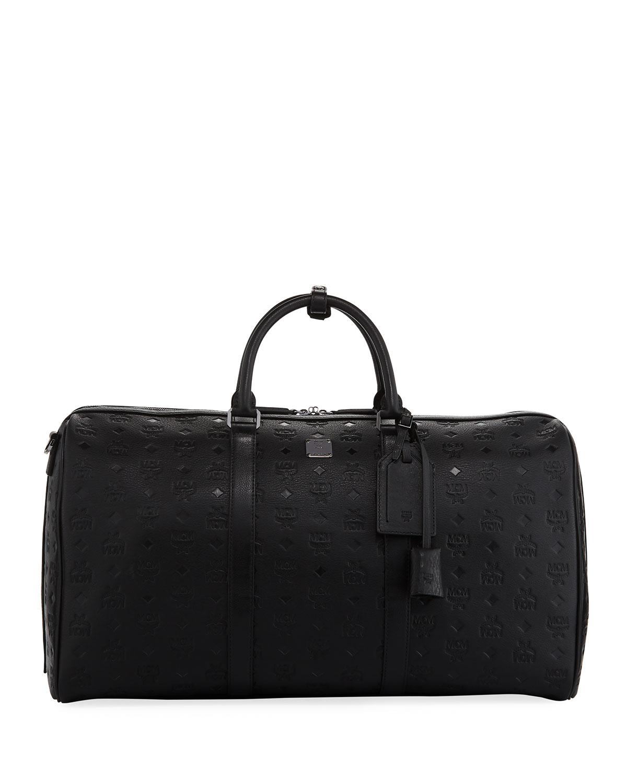 Ottomar Men S Embossed Weekender Bag