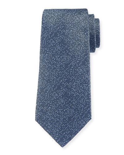 Tonal Dot Silk Tie