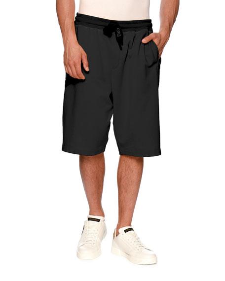 Dolce & Gabbana Logo Drawstring-Waist Shorts