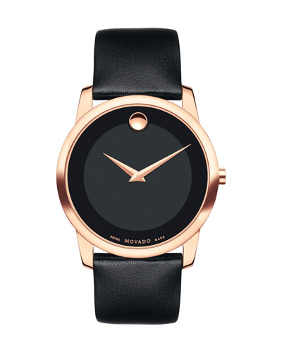 40mm Museum Classic Rose Gold IP Watch