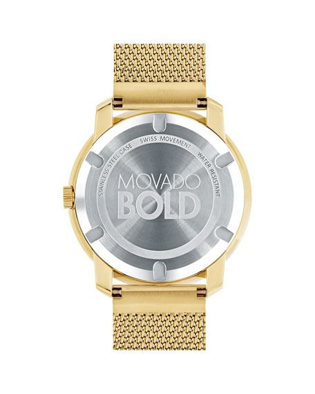 44mm Bold Watch with Mesh Bracelet