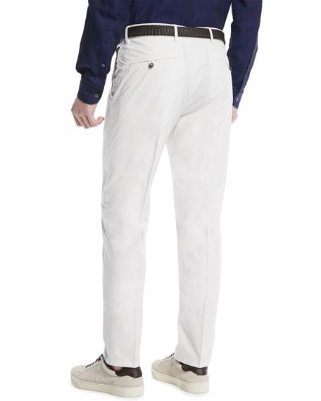 Slim-Leg Chino Pants